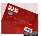 Ikano Visa - Eff. rente 20,1 %